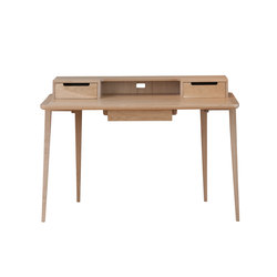 Treviso desk | oak | Escritorios individuales | Ercol