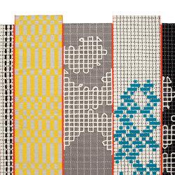 Bandas Rug Turquoise 300 3 | Formatteppiche / Designerteppiche | GAN