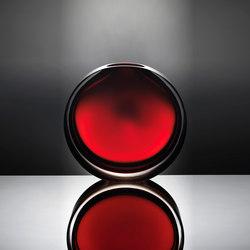 Lente | smokey red | Vases | Anna Torfs