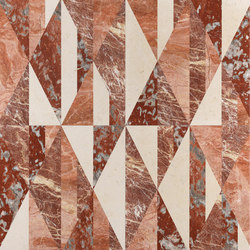 Opus | Tangram ginger | Natural stone panels | Lithos Design