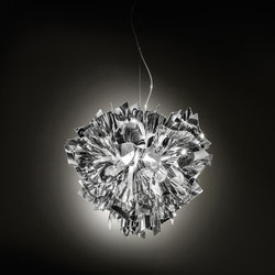 Veli Silver suspension large | Iluminación general | Slamp