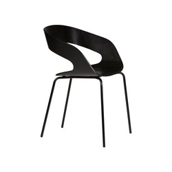 Chat 4-leg chair | Sedie visitatori | Plycollection
