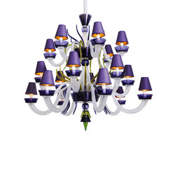 Caigo 2 | Ceiling suspended chandeliers | VERONESE