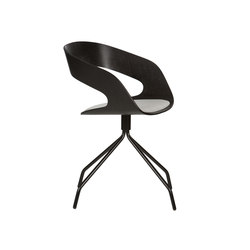 Chat swivel chair | Besucherstühle | Plycollection