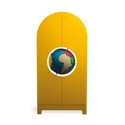 Globe Cabinet | Armoires | Gufram