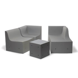 Softcrete | Modular seating systems | Gufram