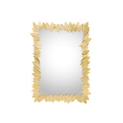 Leaf | Rectangular Mirror | Spiegel | GINGER&JAGGER