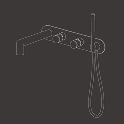 Cartesio CAR51 | Bath taps | CEADESIGN