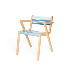Azur +A ST | Restaurant chairs | Z-Editions