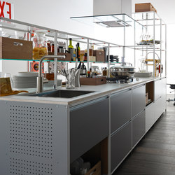 Meccanica | Metal | Fitted kitchens | Valcucine