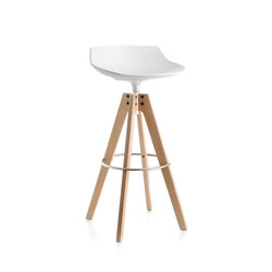 Flow stool | Taburetes de bar | MDF Italia