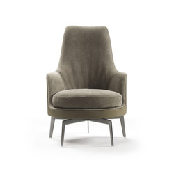 Guscioalto Soft Armchair | Lounge chairs | Flexform