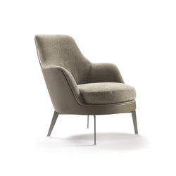 Guscio Soft Armchair | Lounge chairs | Flexform