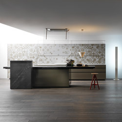 New Logica System | Artematica Vitrum | Fitted kitchens | Valcucine