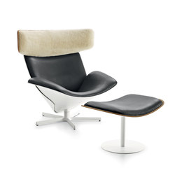 Almora with footstool | Lounge chairs | B&B Italia