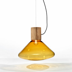 Muffins Wood 03B PC851 | Suspended lights | Brokis