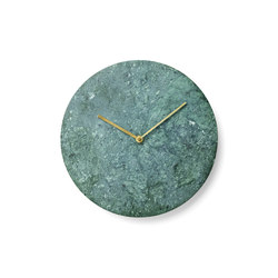 Marble Wall Clock | Clocks | Menu