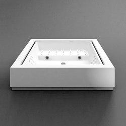 Quadrat free standing minipool | Bathtubs | Kos