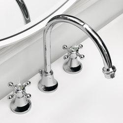 Agora 3 hole basin mixer | Wash-basin taps | Zucchetti