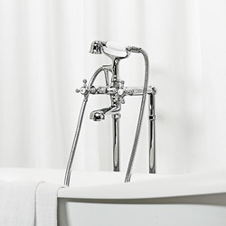 Agora free standing bath-shower mixer | Bath taps | Zucchetti