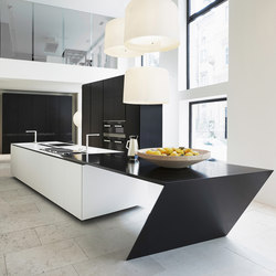 Sharp | Cucine a isola | Varenna Poliform