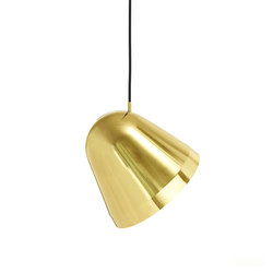 Tilt Brass Pendant Lamp | General lighting | Nyta