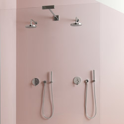 ON shower set with built-in single mixer | Duscharmaturen | Zucchetti