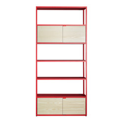 New Order Home Vertical Shelf | Regalsysteme | Hay