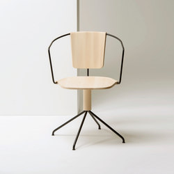 Uncino version B | MC9 | Visitors chairs / Side chairs | Mattiazzi