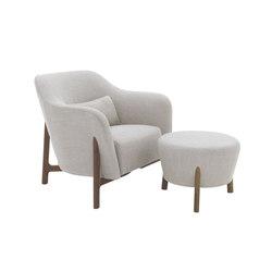 Pilotis armchair | pouf | Loungesessel | De Padova
