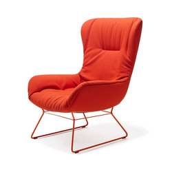 Leya | Wingback Chair with wire frame | Sillones lounge | Freifrau Sitzmöbelmanufaktur