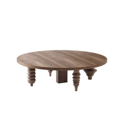 Showtime Multileg Low Table Wood | Tavolini da salotto | BD Barcelona