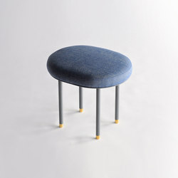 Pill Low Stool | Pouf | Phase Design