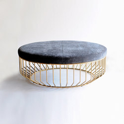 Wired Ottoman | Pouf | Phase Design