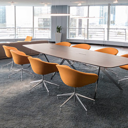 Star conference table | Mesas contract | RENZ