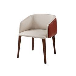 Sofy | bi-material armchair | Visitors chairs / Side chairs | Frag