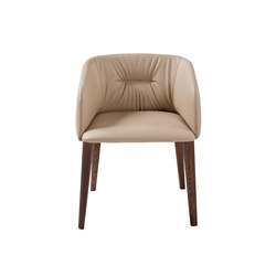 Sofy Monomaterial armchair | Visitors chairs / Side chairs | Frag