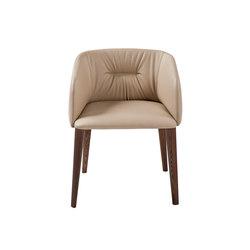 Sofy Monomaterial armchair | Besucherstühle | Frag