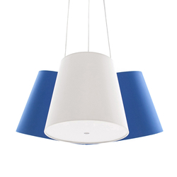 Cluster blau-weiss-blau | Allgemeinbeleuchtung | frauMaier.com
