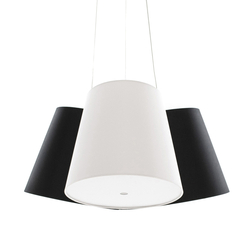 Cluster black-white-black | Suspended lights | frauMaier.com