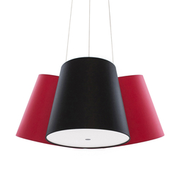 Cluster red-black-red | General lighting | frauMaier.com