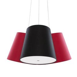 Cluster rot-schwarz-rot | Allgemeinbeleuchtung | frauMaier.com