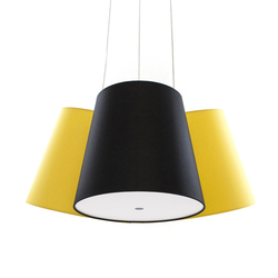 Cluster yellow-black-yellow | Suspended lights | frauMaier.com