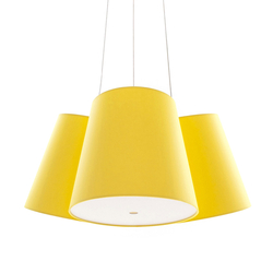Cluster yellow-yellow-yellow | Suspended lights | frauMaier.com