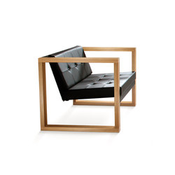 Cima Lounge Poltrona Teak | Garden armchairs | FueraDentro