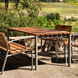 NeoRomántico Mesa | Exterior tables | Santa & Cole