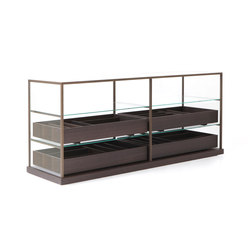 Acquario chiffonier | Display cabinets | PORRO