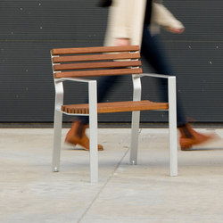 Harpo Chair | Exterior chairs | Santa & Cole