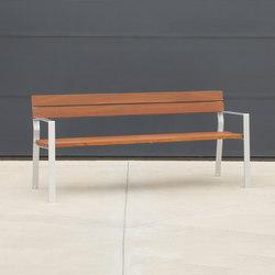 Harpo Bench | Außenbänke | Santa & Cole