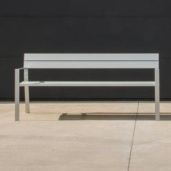 Harpo Bench | Exterior benches | Santa & Cole
